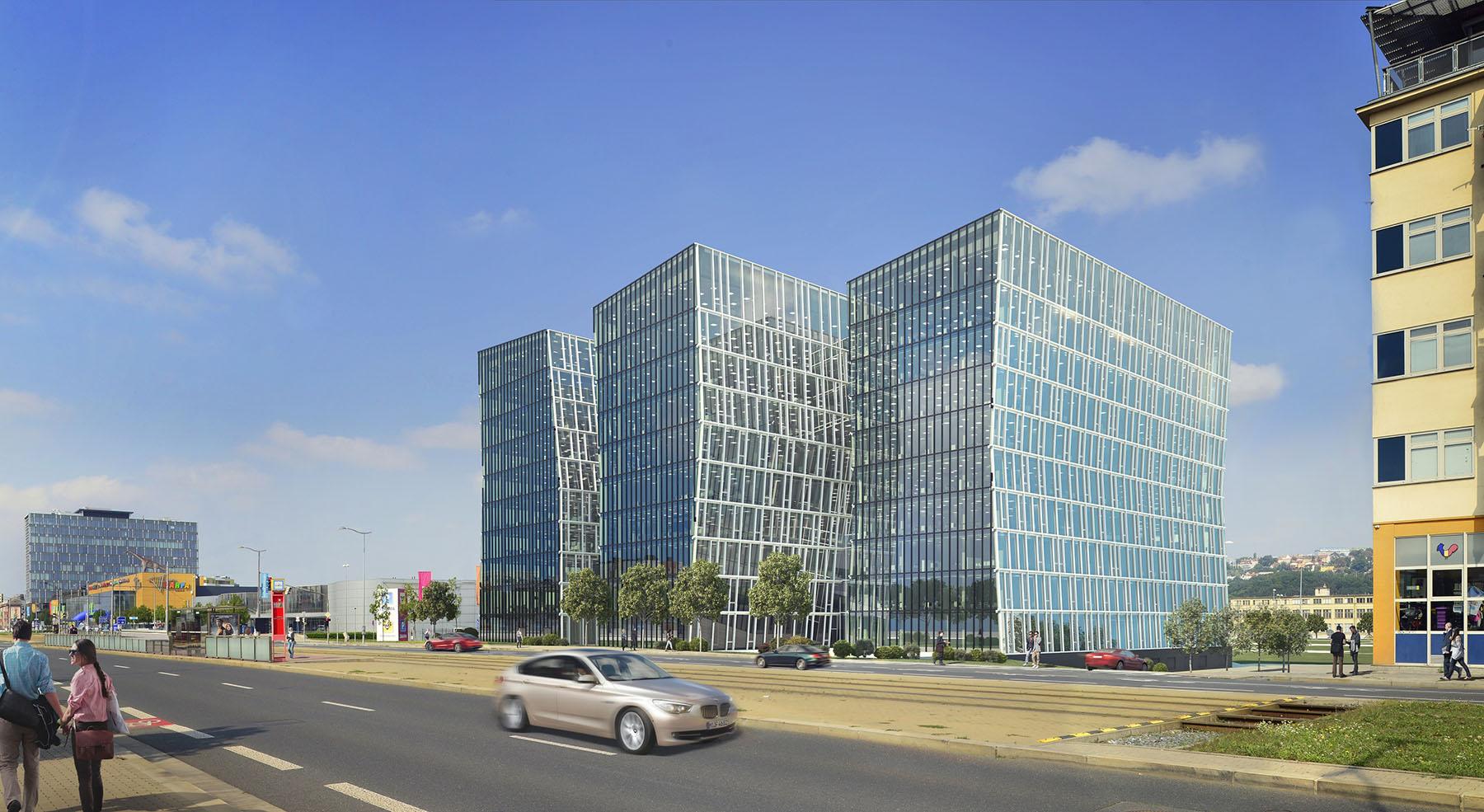 7d3b8fd85da7 Nová administrativní budova Beethoven v Praze 9