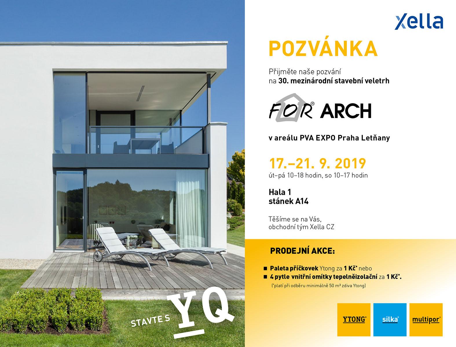 Stavbaweb cz – Ytong zve na For Arch 2019