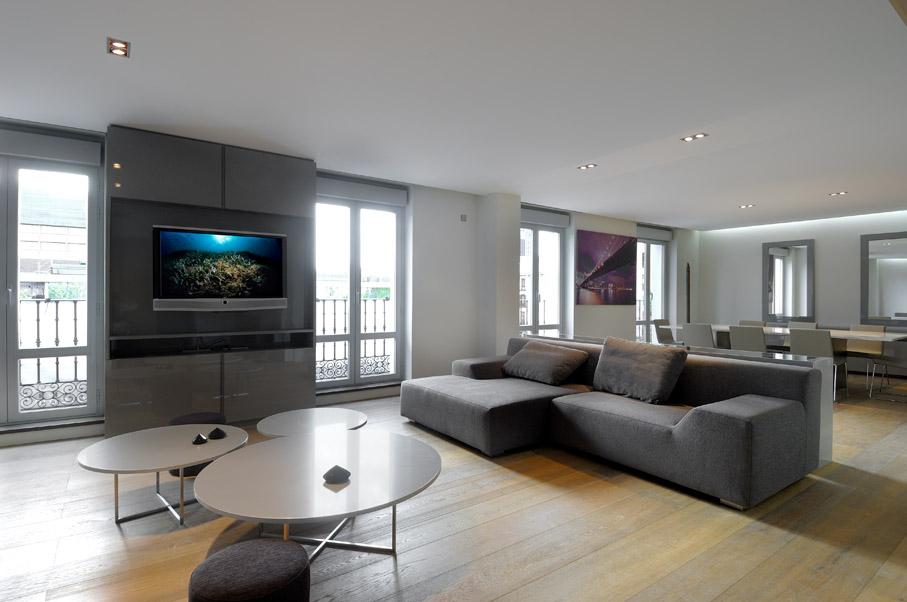 Stavbaweb.cz ? A cero: Rekonstrukce osmi byt? v Madridu