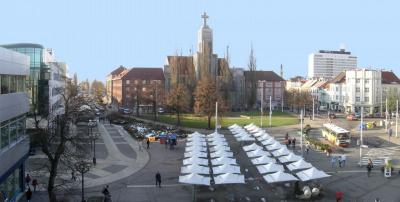 Náměstí 28. října (zdroj: Hradec Králové)