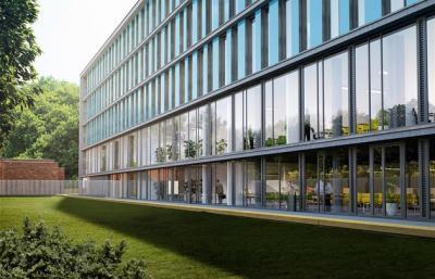 Vizualizace Laboratorního centra Fakulty technologické ve Zlíně (zdroj: UTB Zlín)