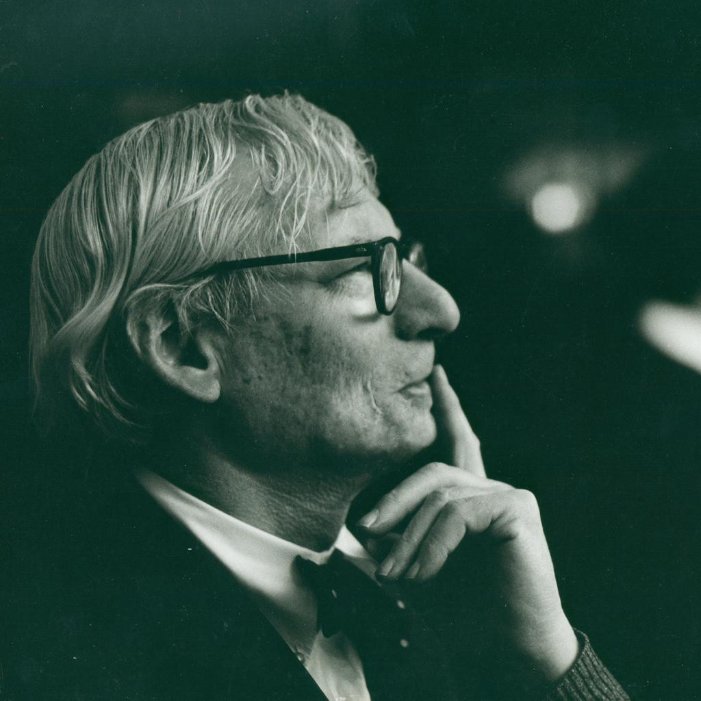 Louis Kahn, c. 1972 © Robert C. Lautman Photography Collection, National Building Museum