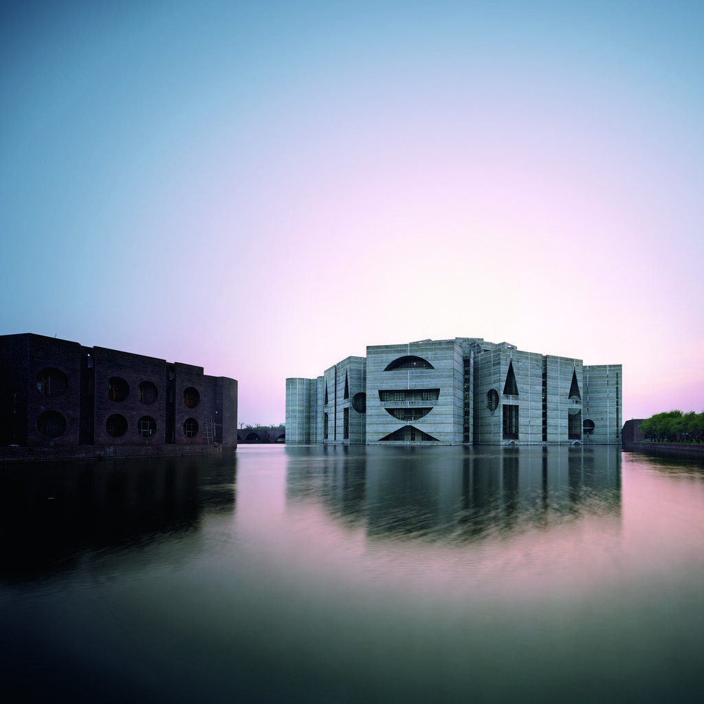 National Assembly Building in Dhaka, Bangla-desh, Louis Kahn, 1962—83 © Raymond Meier
