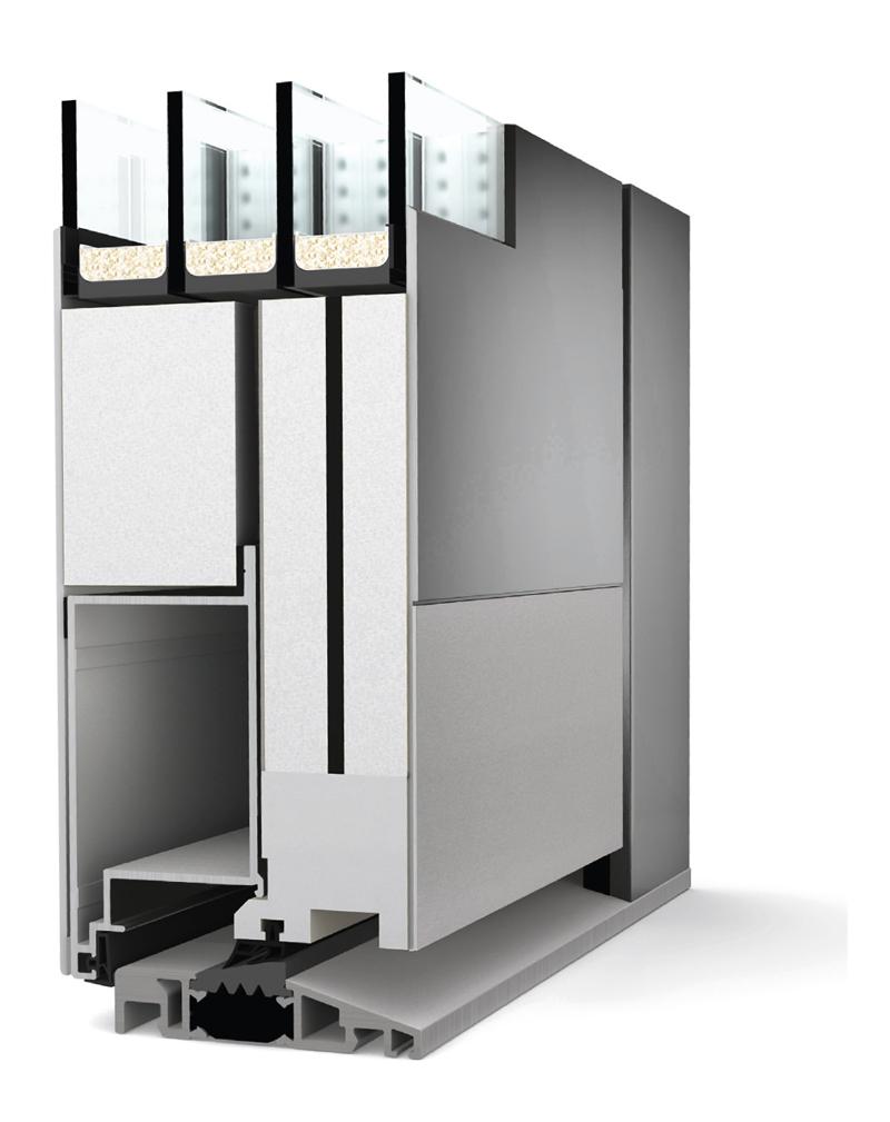 vstupn dve e internorm at 410 imaterialy. Black Bedroom Furniture Sets. Home Design Ideas
