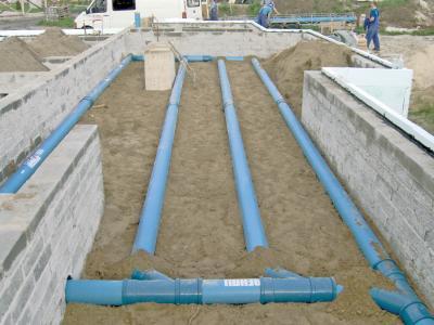 Pokládka trubního systému Awadukt Thermo – Tichelmanův způsob
