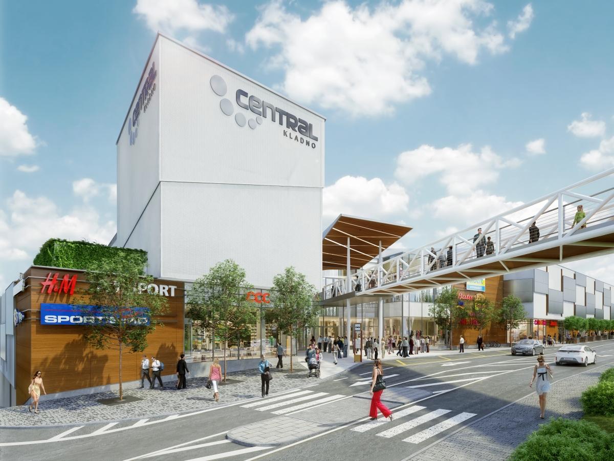 9651c4c137 Stavbaweb.cz – Obchodní centrum Central Kladno