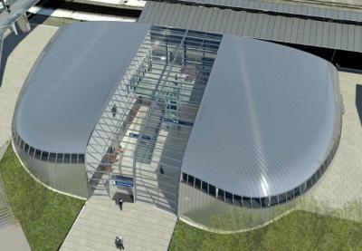 Vizualizace  - Autorem projektu nového Horního nádraží je architekt Petr Franta