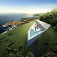 Zaha Hadid: Golf and Spa Resort v Dubrovniku